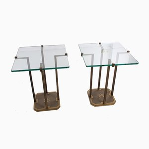 Vintage Model T18 Side Tables by Peter Ghyczy, Set of 2