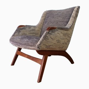 Mid-Century Danish Lounge Chair, 1950s