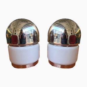 Italienische Salz & Pfeffer Lampen von Goffredo Reggiani für Reggiani, 1970er, 2er Set
