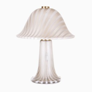Glass Mushroom Table Lamp from Peill & Putzler, 1970s