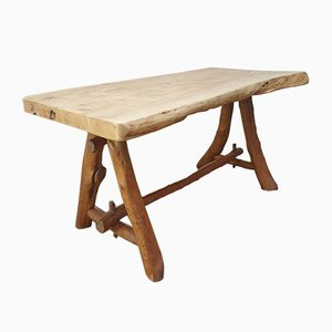 Elm Dining Table, 1950s