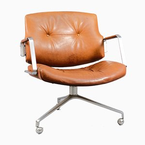 Vintage FK84 Office Chair by Preben Fabricius & Jørgen Kastholm for Kill International