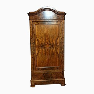 Antique Louis Philippe Burr Walnut Cabinet