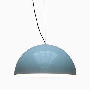 Grande Lampe à Suspension Sonora Mid-Century en Métal par Vico Magistretti pour Oluce, 1970s