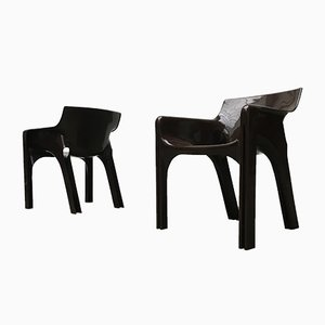 Space Age Gaudi Dining Chairs by Vico Magistretti for Artemide, 1970s, Set of 6