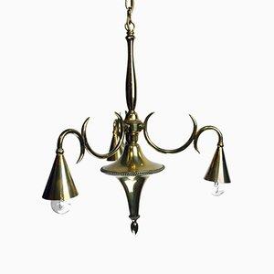 Antique Ceiling Lamp by Dagobert Peche for Wiener Werkstätten, 1910s