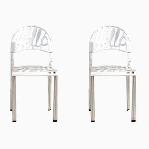 Mid-Century Hello There Side Chairs by Jeremy Harvey for Artifort, Set of 2
