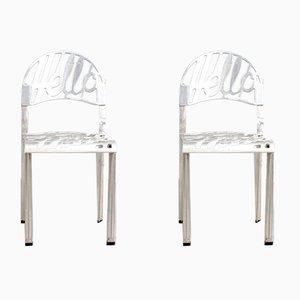 Mid-Century Hello There Stühle von Jeremy Harvey für Artifort, 2er Set