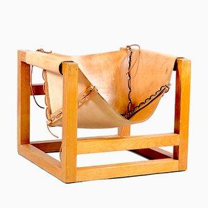 Kubistischer Deutscher Mid-Century Tail 4 Sessel von Heinz Witthoeft