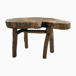 Table Basse en Bois, 1950s