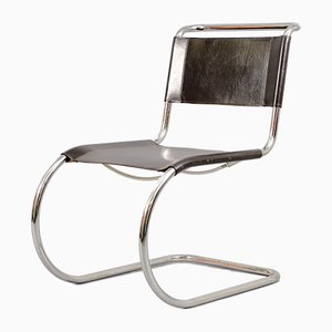 Mid-Century MR10 Cantilever Chair by Ludwig Mies van der Rohe for Thonet