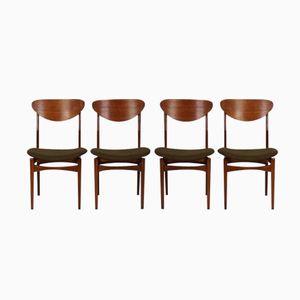 Chaises de Salon par WéBé pour Louis van Teefelen, Set de 4