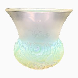 Buttercup Vase by R. Lalique, 1930s
