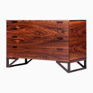 Mid-Century Danish Rosewood Chest of Drawers by Svend Langkilde for Langkilde Mobler, 1960s