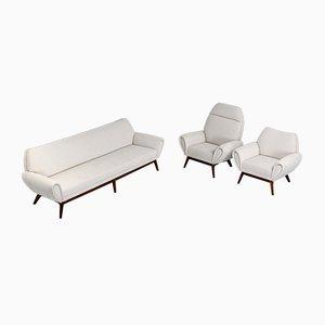 Danish Sofa Group by Kurt Østervig, 1960s, Set of 3
