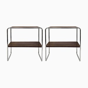 Model B12 Console Tables by Marcel Breuer, 1950s, Set of 2