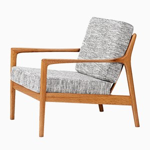 Mid-Century USA-75 Lounge Chair by Folke Ohlsson for Dux, 1950s