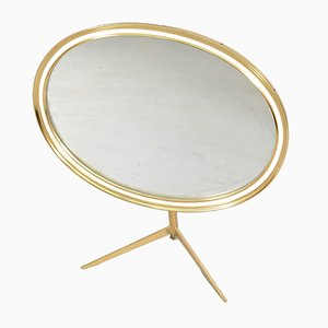 Mid-Century Dressing Table Mirror from Vereinigte Werkstätten Collection
