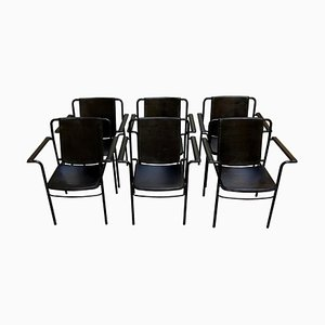 Armchairs by Mario Marenco for Poltrona Frau, 1970s, Set of 6