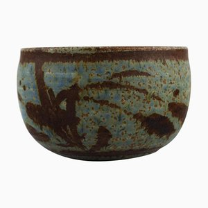 Bowl in Glazed Stoneware