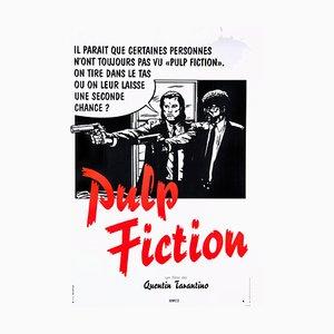 Pulp Fiction Poster by Bernard Bittler, 1994