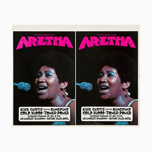 Aretha Franklin Poster by David Singer, 1971