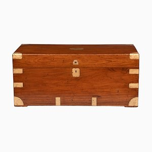 Camphorwood Military Campaign Trunk, 1850s