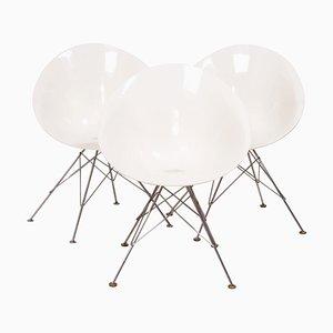 Ero / S Stuhl in Weiß von Philippe Starck für Kartell, 1999
