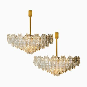 6-Tier Ballroom Light Sculpture from Doria Leuchten Germany, 1960s