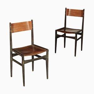 Sedie in faggio, anni '60, set di 2