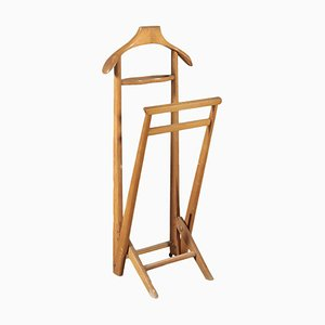 Beech Wood Valet Stand, 1950s