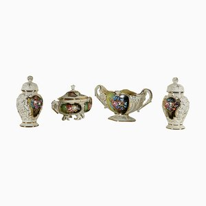 Ceramics from Capodimonte, Set of 4