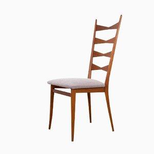 Chaise de Salon Vintage avec Tissu Steelcut de Kvadrat