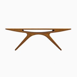Smile Table by Johannes Andersen for CFC Silkeborg, 1950s