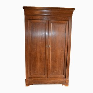 Antique Louis Philippe Oak Cabinet