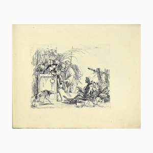G.B. Tiepolo, Varj Capriccj, 1785, Collection of Etchings, Set of 10