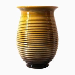 Vintage Italian Ceramic Vase by Galvani, 1970s