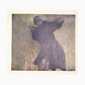 Franz von Bayros (Choisi Le Conin), Die Tänzerin Gertrud Bodenwieser, 1920er, Héliogravure