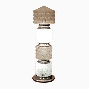Italienische Space Age Murano Glas Stehlampe von Carlo Nason für Mazzega, 1960er