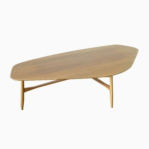 Mid-Century Teak Coffee Table by Svante Skogh for Laauser, 1960s