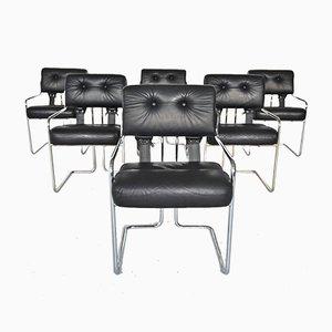 Tucroma Esszimmerstühle von Guido Faleschini für i4 Mariani, 1970er, 6er Set