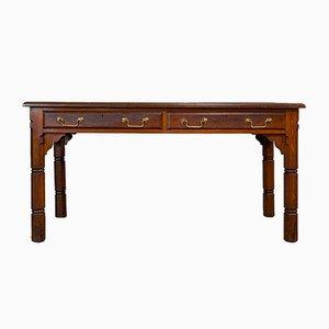 Antique English 2-Drawer Desk