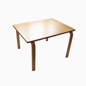 Mesa de centro al estilo de Alvar Aalto
