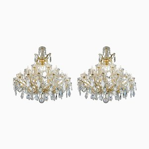Maria Theresa Chandeliers, 1950s, Set of 2
