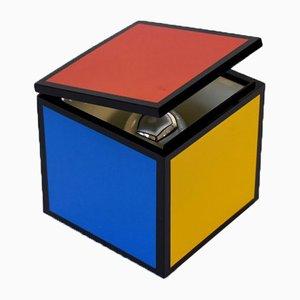 Rubik's Cube Hängelampe von Franco Bettonica & Mario Melocchi für Cini & Nils, 1970er