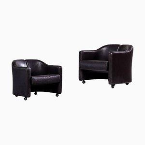 142 Series Sessel von Eugenio Gerli für Tecno, 1960er, 2er Set