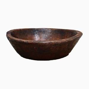 Primitive Burl Wood Bowl