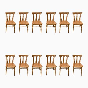 Vintage Side Chairs from Baumann, Set of 12