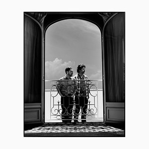 The Coen Brothers Framed in White by Kevin Westenberg for GALERIE PRINTS