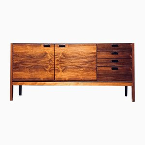 Rosewood Sideboard with Leather Handles by Robert Heritage for Meredew, 1960s